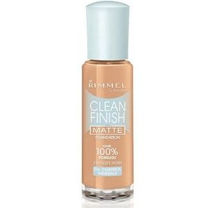 Rimmel Clean Finish Matte Foundation, 220 Ivory
